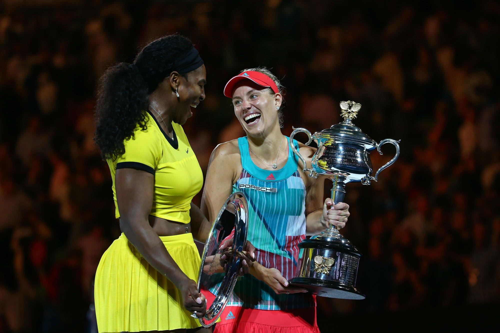 Kerber Serena Williams