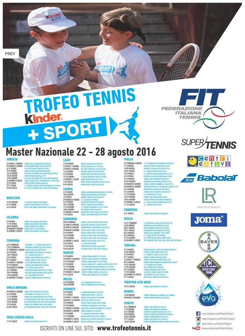TROFEO-TENNIS-KINDER