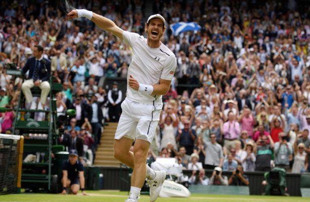 All'asta per beneficenza la maglia di Andy Murray
