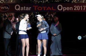A Doha: vince Karolina Pliskova