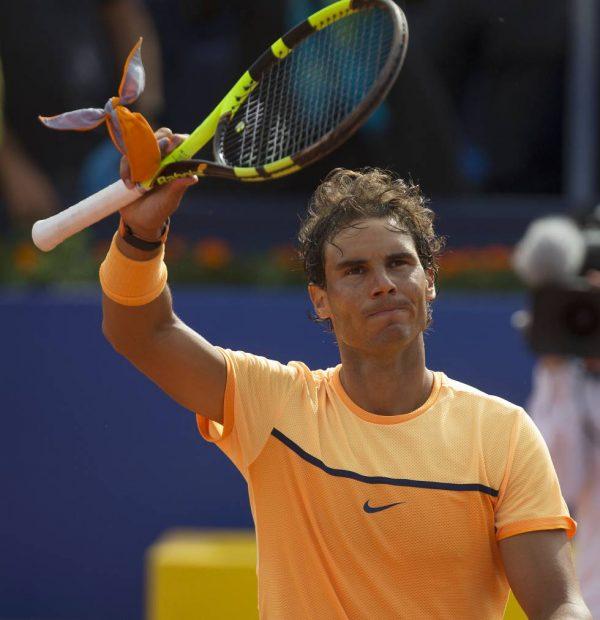 Rafa Nadal batte Fabio Fognini