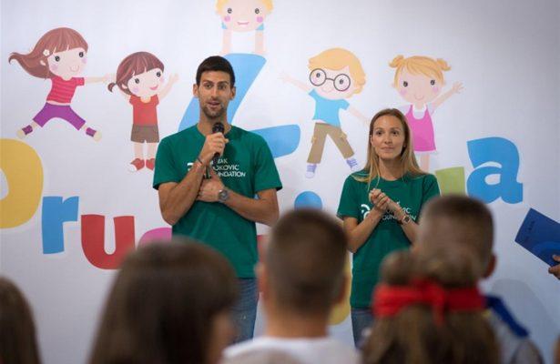 Djokovic aprirà un ristorante per i bisognosi