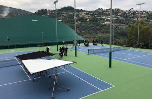 Il Piatti Tennis Center diventa location di uno spot top secret