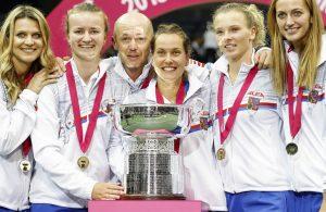 Fed Cup: trionfo ceco su Usa