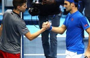 Atp Finals: Thiem salva Federer