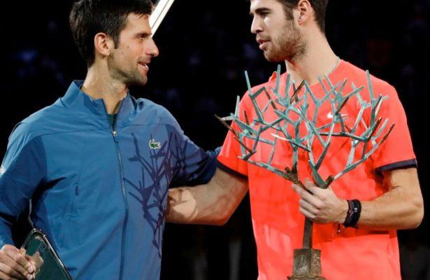 Bercy: incredibile Khachanov su Djokovic