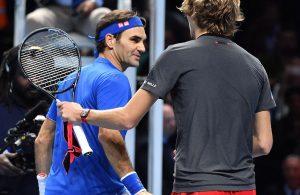 Atp Finals: Zverev batte Federer sotto i fischi