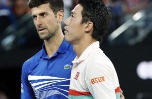 AO: ritiro Nishikori, Djokovic è in semifinale