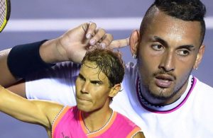 Acapulco: Kyrgios batte Nadal salvando 3 match point
