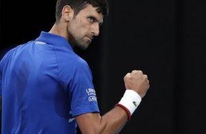 Classifica ATP: nessun cambio in top ten, Djokovic sempre in testa