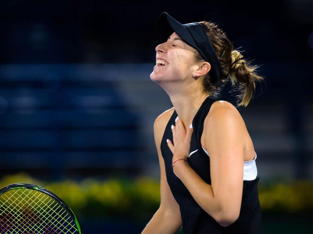 Dubai: Belinda Bencic torna a vincere