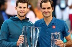 Indian Wells a Dominic Thiem, Federer battuto