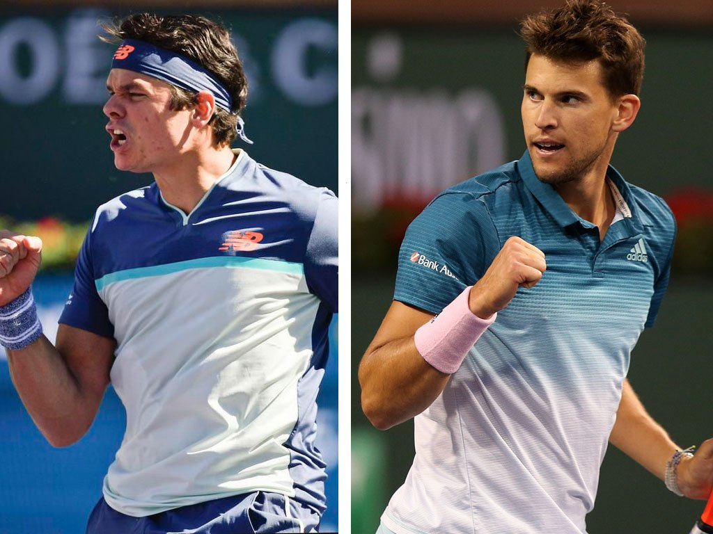 Indian Wells, Raonic e Thiem in semifinale