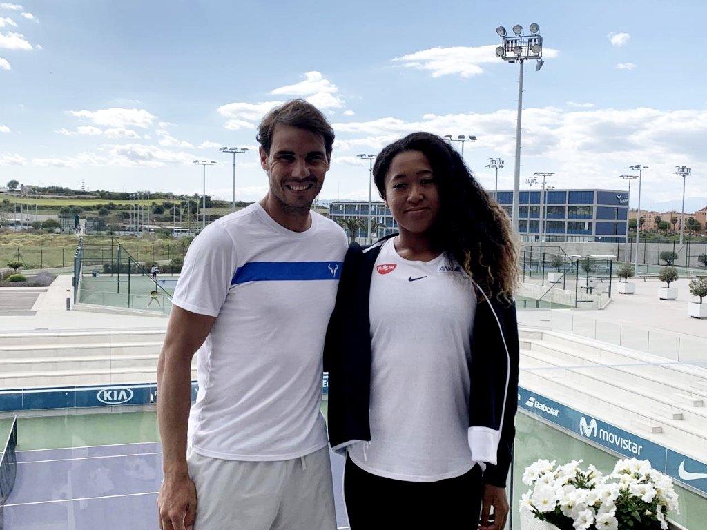 Naomi Osaka sceglie la Rafa Nadal Academy per allenarsi